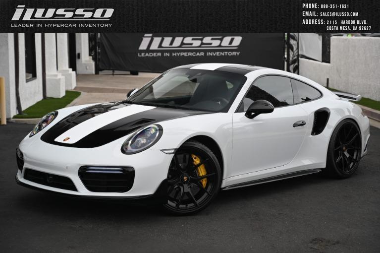 Used 2019 Porsche 911 Turbo S for sale $209,000 at Ilusso in Costa Mesa CA
