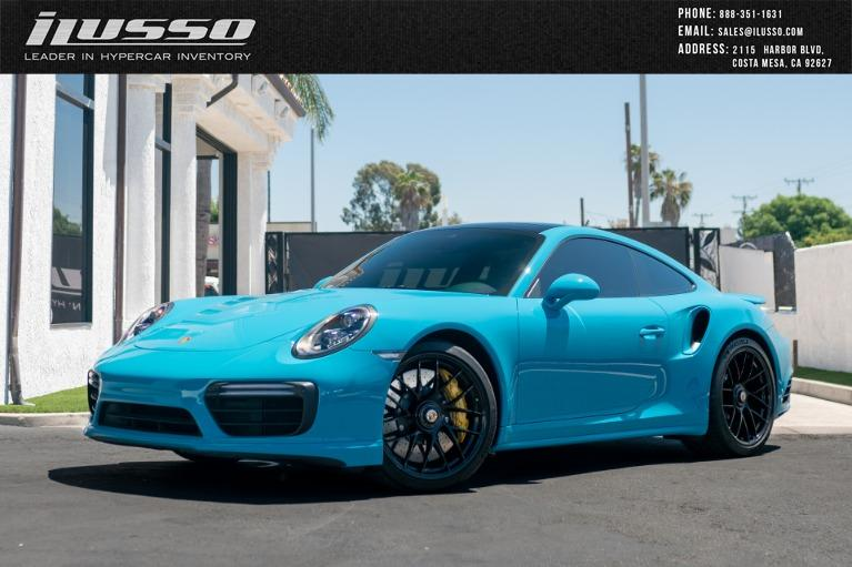 Used 2019 Porsche 911 Turbo S for sale $215,000 at Ilusso in Costa Mesa CA
