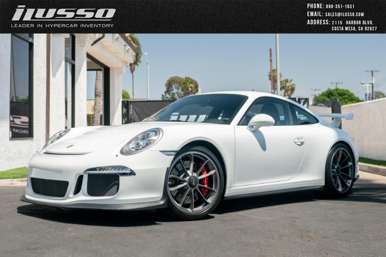 Used 2014 Porsche 911 GT3 for sale Sold at Ilusso in Costa Mesa CA