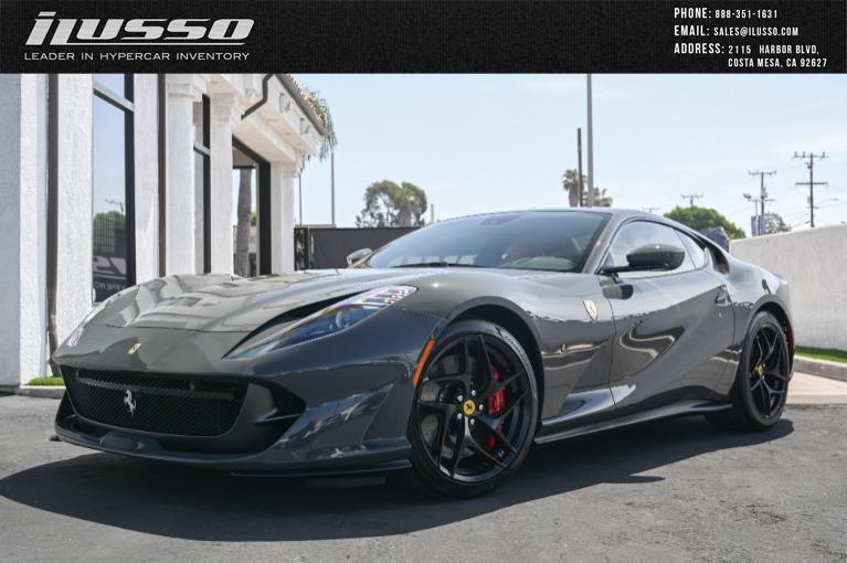 Used 2020 Ferrari 812 Superfast for sale Sold at Ilusso in Costa Mesa CA