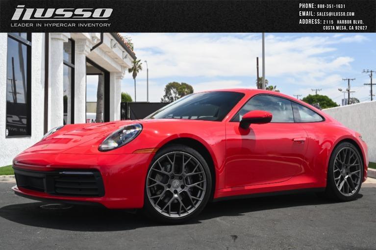 Used 2020 Porsche 911 Carrera for sale $125,000 at Ilusso in Costa Mesa CA
