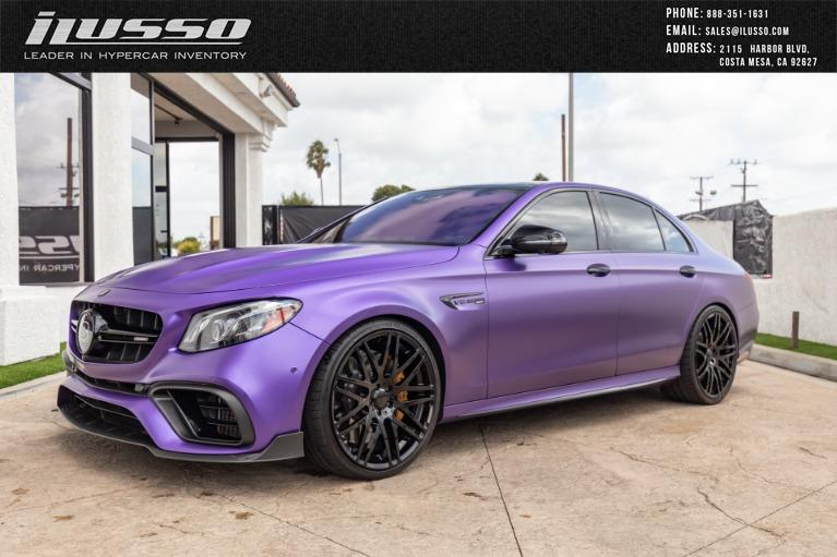 Used 2018 Mercedes-Benz Brabus E800 AMG E 63 S for sale Sold at Ilusso in Costa Mesa CA