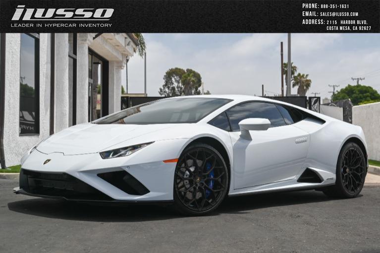 Used 2021 Lamborghini Huracan LP 610-4 EVO for sale Sold at Ilusso in Costa Mesa CA