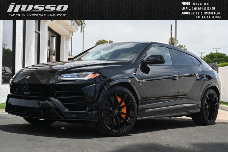 Used 2020 Lamborghini Urus for sale Sold at Ilusso in Costa Mesa CA