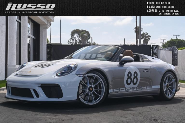 Used 2019 Porsche 911 Speedster Heritage for sale Sold at Ilusso in Costa Mesa CA