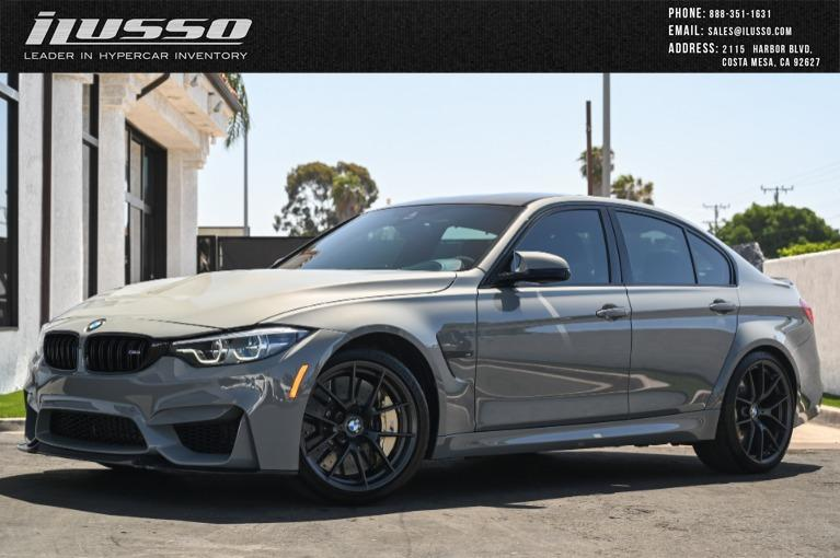 Used 2018 BMW M3 CS for sale Sold at Ilusso in Costa Mesa CA