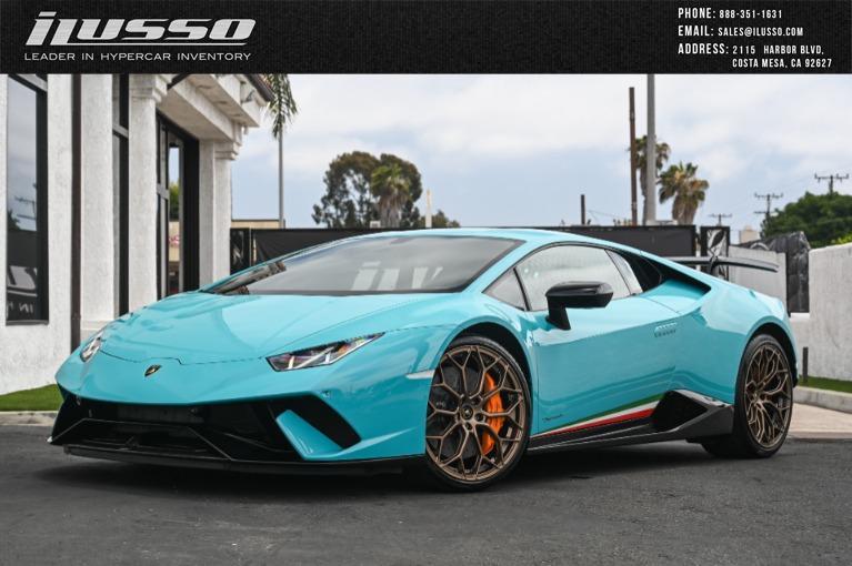 Used 2018 Lamborghini Huracan LP 640-4 Performante for sale $349,000 at Ilusso in Costa Mesa CA