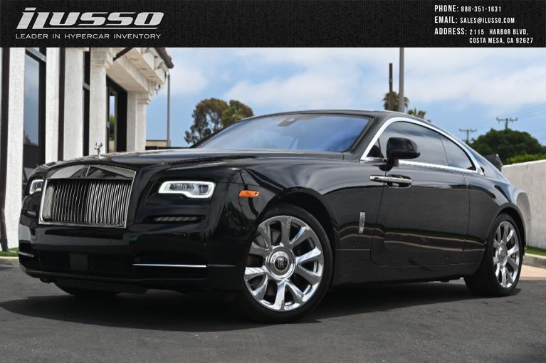 Used 2017 Rolls-Royce Wraith for sale Sold at Ilusso in Costa Mesa CA