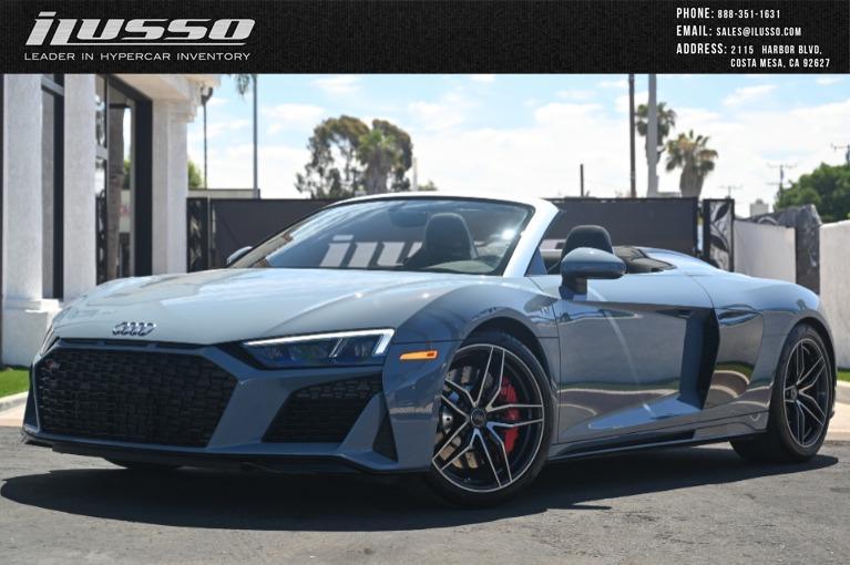Used 2020 Audi R8 5.2 quattro V10 Spyder for sale Sold at Ilusso in Costa Mesa CA