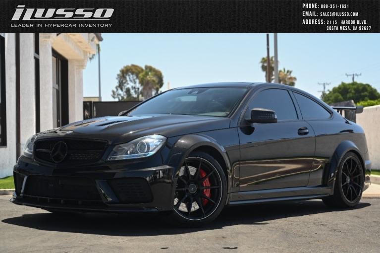 Used 2012 Mercedes-Benz C-Class C 63 AMG Black Series for sale $95,900 at Ilusso in Costa Mesa CA