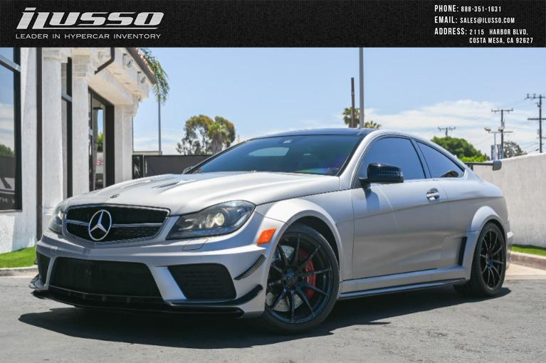 Used 2012 Mercedes-Benz C-Class C 63 AMG Black Series for sale Sold at Ilusso in Costa Mesa CA