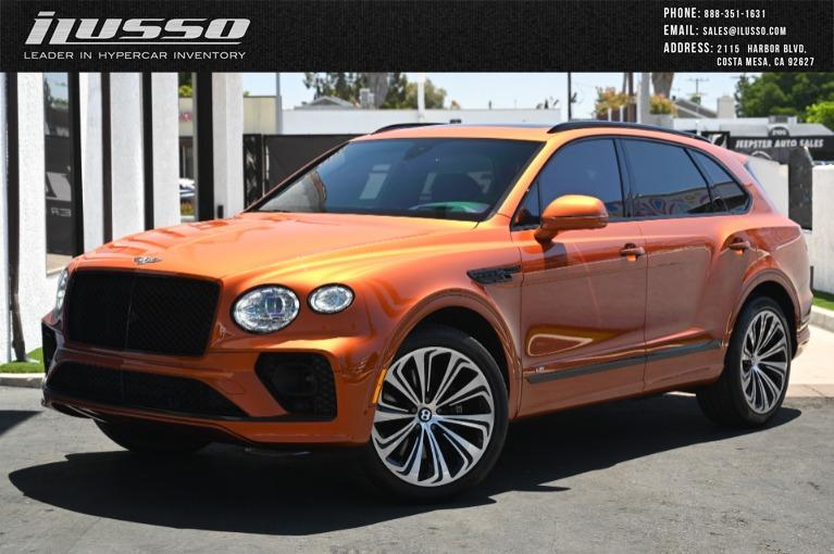 Used 2021 Bentley Bentayga V8 for sale Sold at Ilusso in Costa Mesa CA