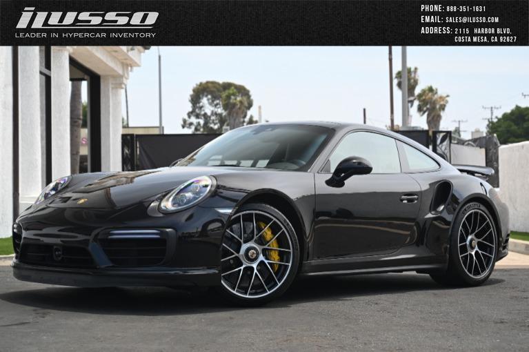 Used 2019 Porsche 911 Turbo S for sale Sold at Ilusso in Costa Mesa CA
