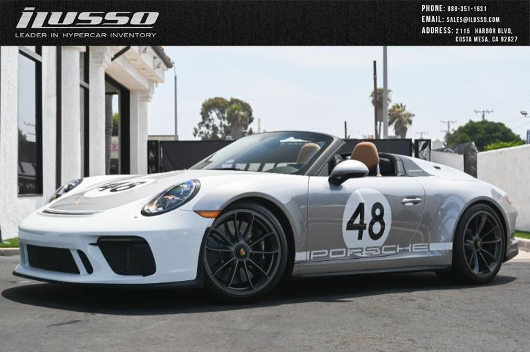 Used 2019 Porsche 911 Speedster Heritage for sale $379,500 at Ilusso in Costa Mesa CA