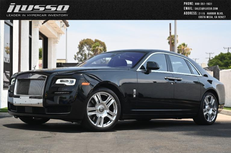 Used 2016 Rolls-Royce Ghost for sale Sold at Ilusso in Costa Mesa CA