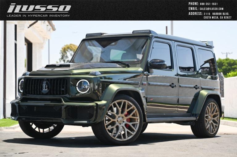 Used 2019 Mercedes-Benz G-Class Brabus G700 for sale Sold at Ilusso in Costa Mesa CA