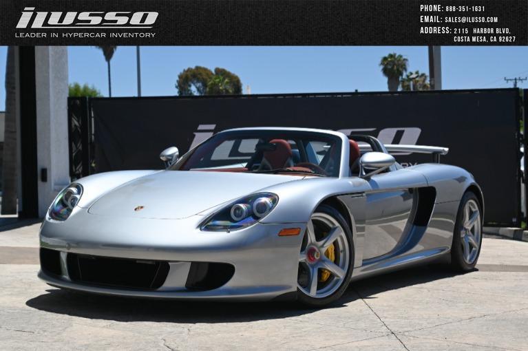 Used 2005 Porsche Carrera GT for sale $1,400,000 at Ilusso in Costa Mesa CA