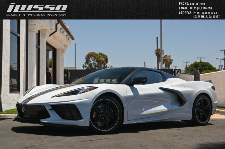 Used 2020 Chevrolet Corvette Stingray for sale Sold at Ilusso in Costa Mesa CA
