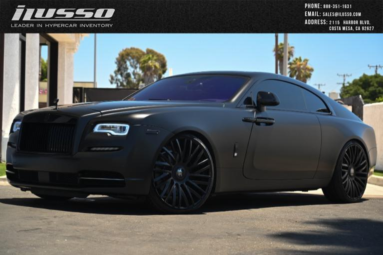 Used 2014 Rolls-Royce Wraith for sale Sold at Ilusso in Costa Mesa CA