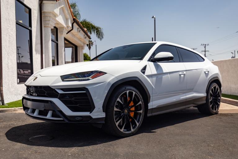 Used 2019 Lamborghini Urus for sale Sold at Ilusso in Costa Mesa CA
