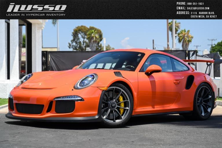 Used 2016 Porsche 911 GT3RS for sale $216,980 at Ilusso in Costa Mesa CA