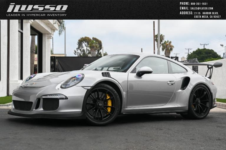 Used 2016 Porsche 911 GT3RS for sale Sold at Ilusso in Costa Mesa CA