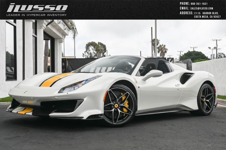 Used 2020 Ferrari 488 Pista Spider for sale $699,000 at Ilusso in Costa Mesa CA