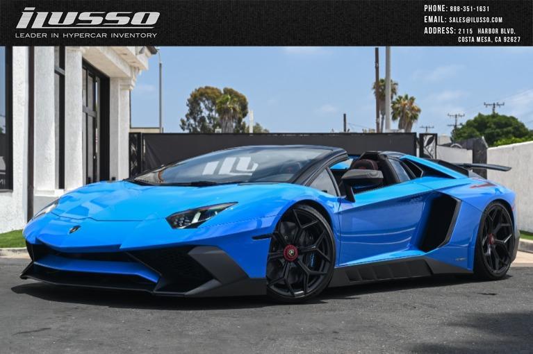 Used 2017 Lamborghini Aventador LP 750-4 SV for sale Sold at Ilusso in Costa Mesa CA