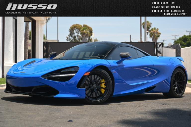 Used 2021 McLaren 720S Performace for sale Sold at Ilusso in Costa Mesa CA