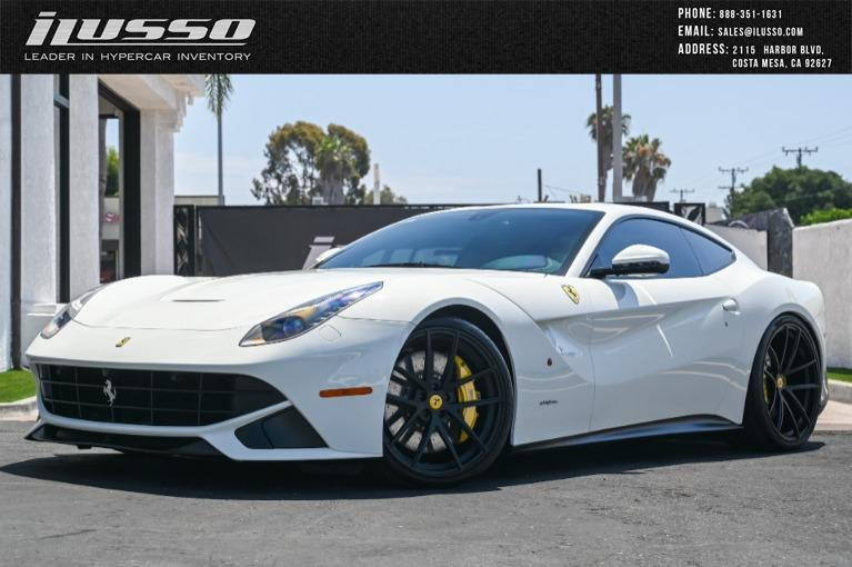 Used 2016 Ferrari F12berlinetta for sale Sold at Ilusso in Costa Mesa CA