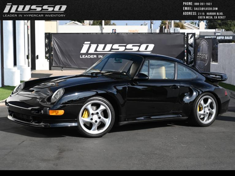 Used 1997 Porsche 911 Turbo S for sale Sold at Ilusso in Costa Mesa CA
