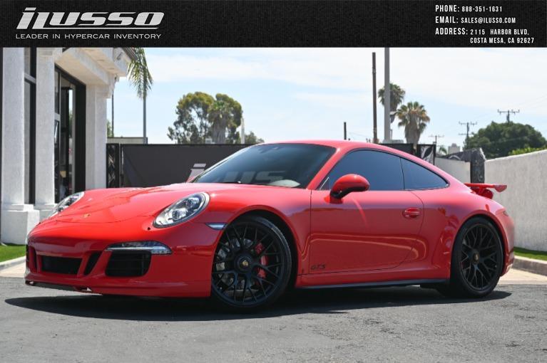 Used 2016 Porsche 911 Carrera GTS for sale $129,000 at Ilusso in Costa Mesa CA