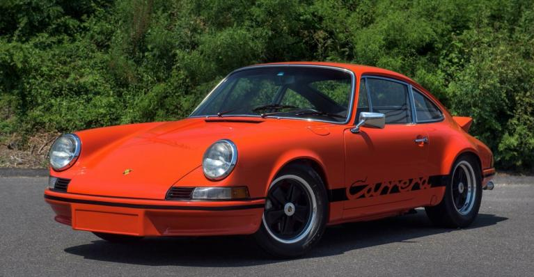 Used 1973 Porsche 911 RS LIGHTWEIGHT for sale $895,000 at Ilusso in Costa Mesa CA