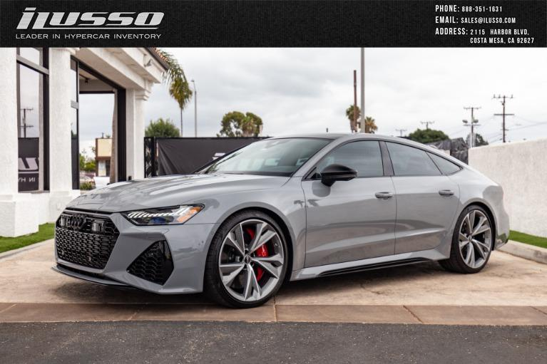 Used 2021 Audi RS 7 4.0T quattro for sale $145,000 at Ilusso in Costa Mesa CA