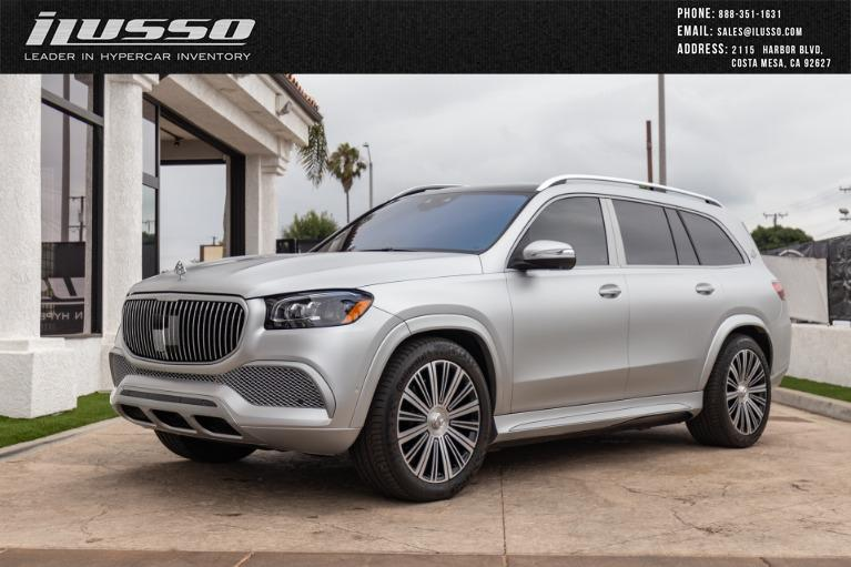 Used 2021 Mercedes-Benz GLS Mercedes-Maybach GLS 600 4MATIC for sale Sold at Ilusso in Costa Mesa CA