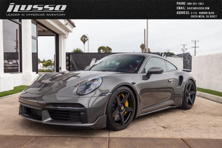 Used 2021 Porsche 911 Turbo S for sale Sold at Ilusso in Costa Mesa CA