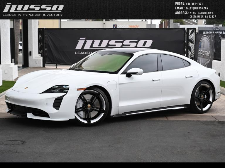 Used 2020 Porsche Taycan Turbo for sale Sold at Ilusso in Costa Mesa CA