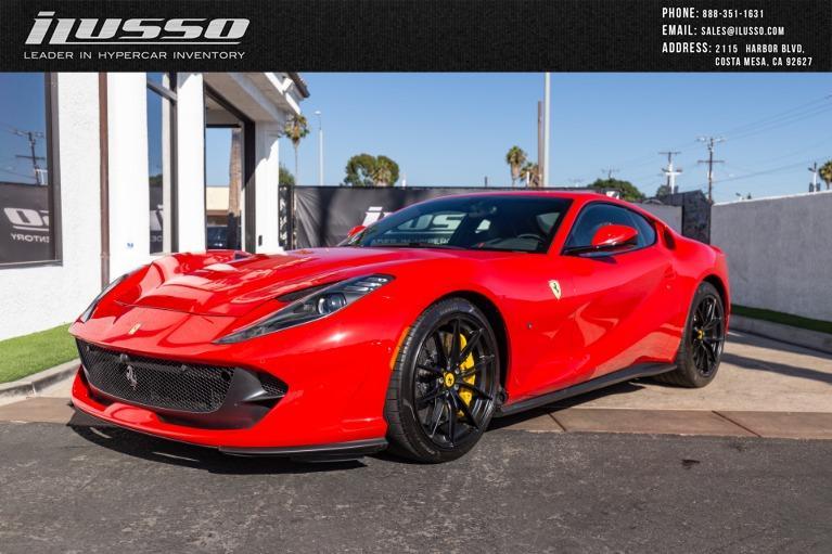 Used 2018 Ferrari 812 Superfast for sale $349,000 at Ilusso in Costa Mesa CA