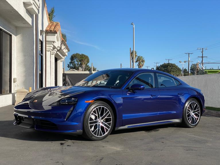 Used 2020 Porsche Taycan Turbo for sale Sold at Ilusso in Costa Mesa CA