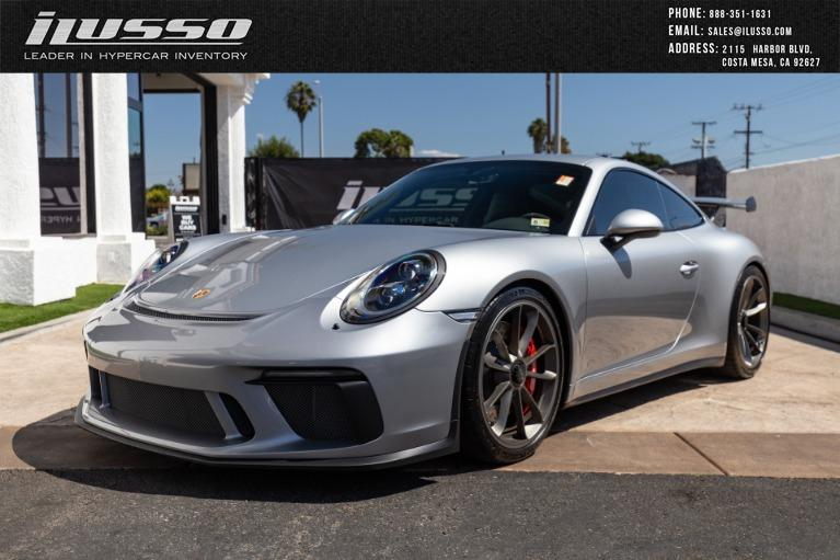 Used 2018 Porsche 911 GT3 for sale Sold at Ilusso in Costa Mesa CA