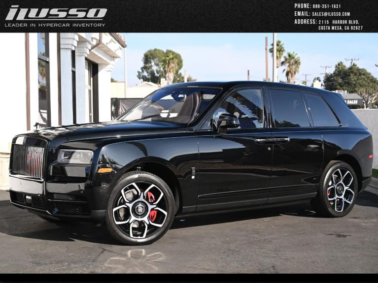 Used 2020 Rolls-Royce Cullinan for sale Sold at Ilusso in Costa Mesa CA