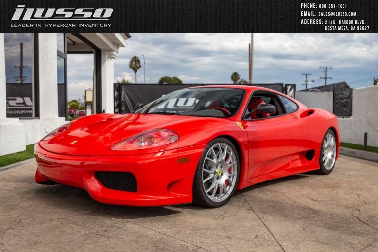 Used 2004 Ferrari 360 Challenge Stradale for sale $269,000 at Ilusso in Costa Mesa CA