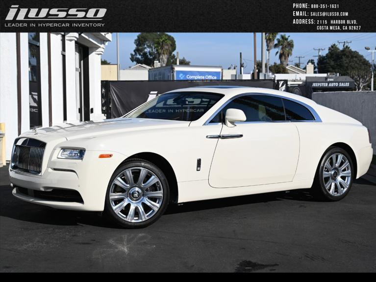 Used 2016 Rolls-Royce Wraith Base for sale Sold at Ilusso in Costa Mesa CA
