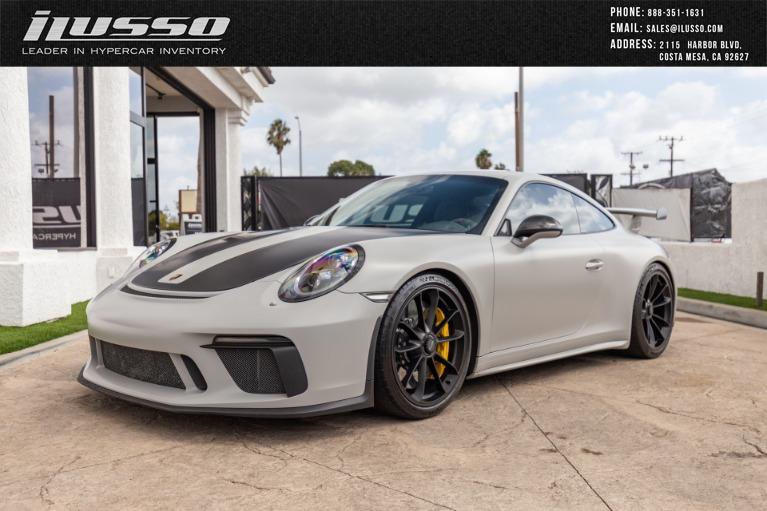 Used 2018 Porsche 911 GT3 for sale $214,911 at Ilusso in Costa Mesa CA