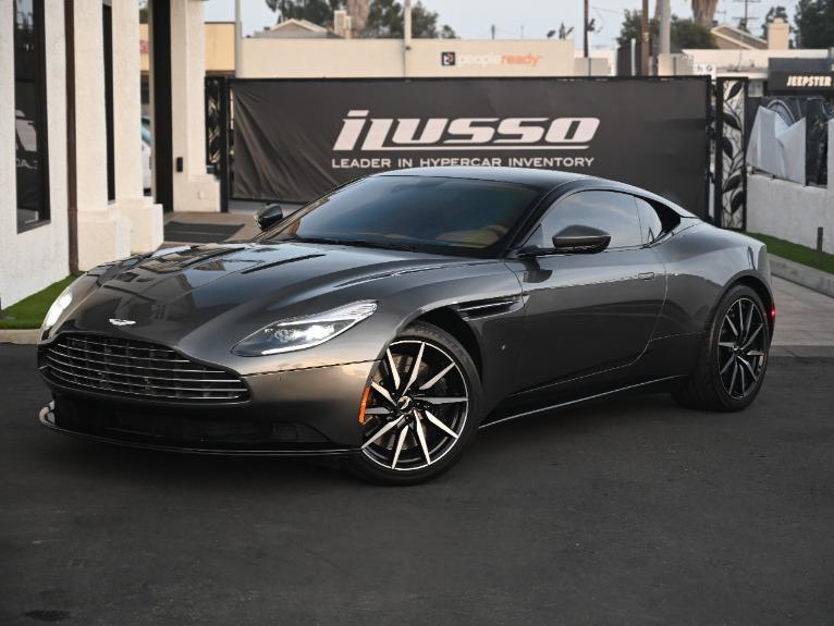 Used 2017 Aston Martin DB11 for sale Sold at Ilusso in Costa Mesa CA