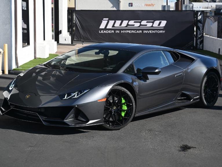 Used 2020 Lamborghini Huracan LP 640-4 EVO for sale Sold at Ilusso in Costa Mesa CA