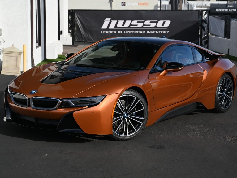 Used 2020 BMW i8 for sale Sold at Ilusso in Costa Mesa CA