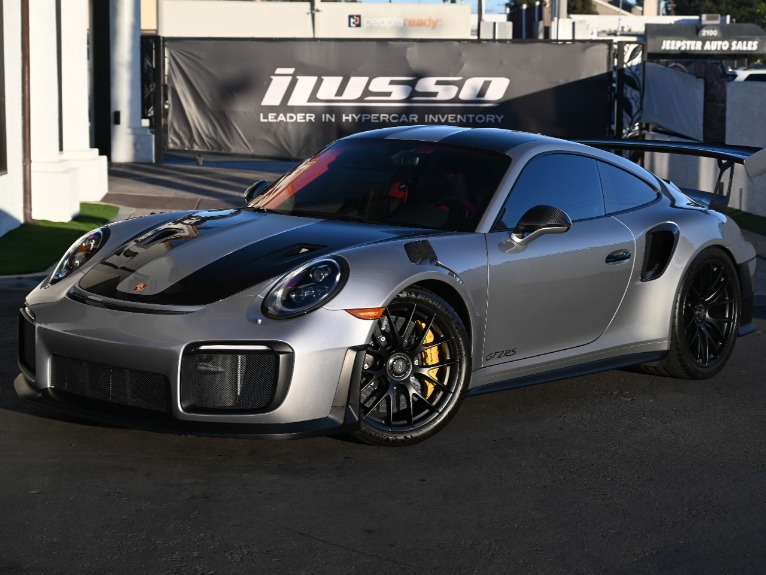 Used 2018 Porsche 911 GT2 RS for sale Sold at Ilusso in Costa Mesa CA