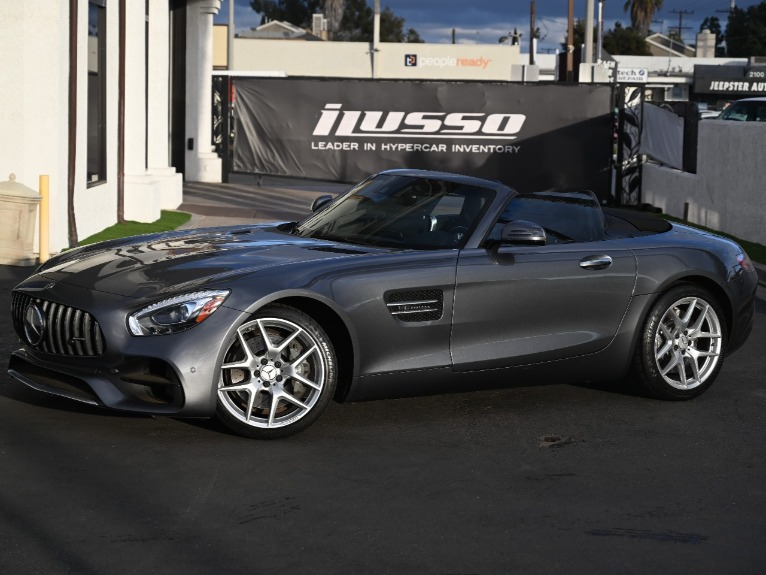 Used 2018 Mercedes-Benz AMG GT for sale Sold at Ilusso in Costa Mesa CA