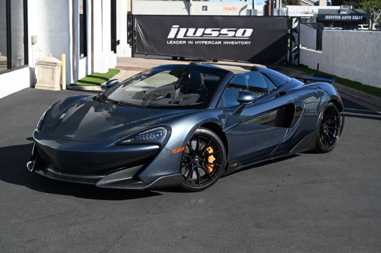 Used 2020 McLaren 600LT Spider for sale Sold at Ilusso in Costa Mesa CA